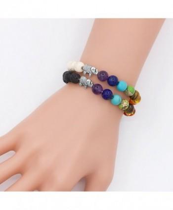 Sundear Bracelets Elephant Chakras Bracelet
