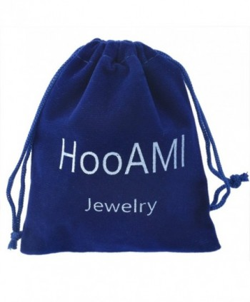 HooAMI Stainless Infinity Pendant Necklace in Women's Jewelry Sets