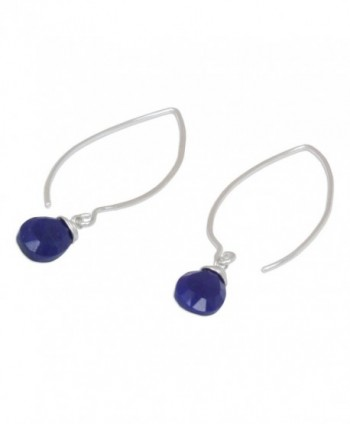 NOVICA Sterling Silver Earrings Sublime