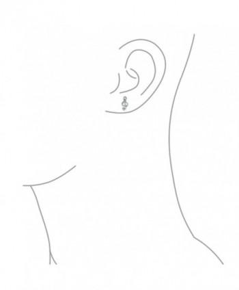Bling Jewelry Polished earrings Sterling in Women's Stud Earrings