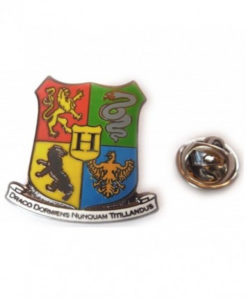 Harry Potter Hogwarts Coat of Arms Crest Hat Jacket Tie Tack Lapel Pin - CW116IJNAJV