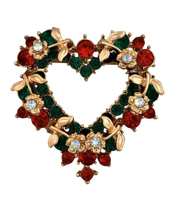 LilyJewelry Christmas Brooch Pin - CW186UZTD0N