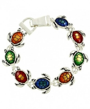 Liavys Turtle Fashionable Chain Bracelet - Multi-Color - CO12F2YCE1N