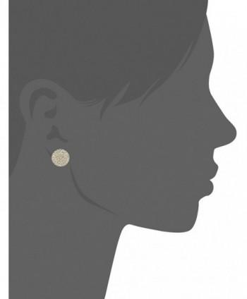 Vera Bradley Pave Clear Earrings