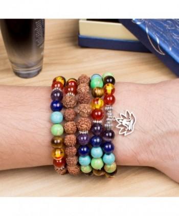 Christmas Buddhist Rudraksha Buddha Gemstone Bracelet
