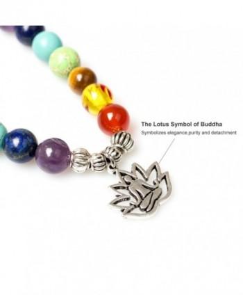 Christmas Buddhist Rudraksha Buddha Gemstone Bracelet in Women's Charms & Charm Bracelets