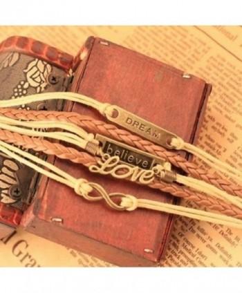 Time Pawnshop Handmade Multilayer Adjustable in Women's Wrap Bracelets