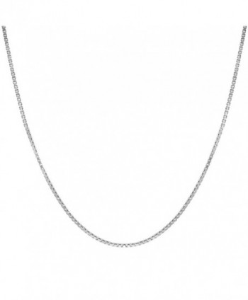Sterling Silver 1mm Chain Inches