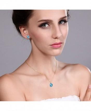 Swiss Plated Silver Pendant Earrings in Women's Stud Earrings