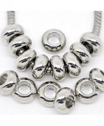 Charm Spacer Snake Chain Bracelet