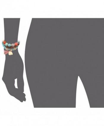 Bohemian Turquoise Elephant Bracelet bl003161 1