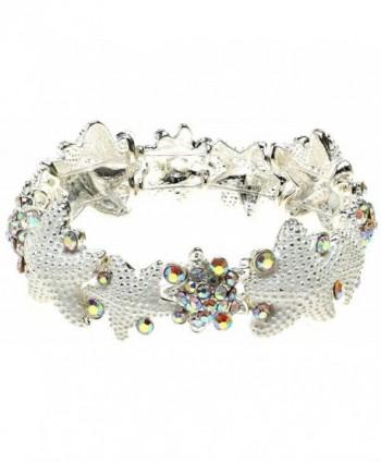 Lova Jewelry Delicate White Starfish Bracelet - CF12GSLVPPF