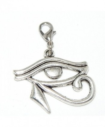 "Pro Jewelry Dangling ""Eye of Horus"" Clip-on Bead for Charm Bracelet 20070 - CQ11P37NAM1"