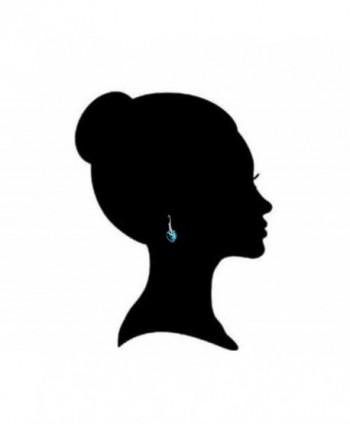 Royal Crystals Sterling leverback Swarovski in Women's Drop & Dangle Earrings