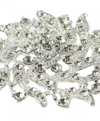 kilofly Rhinestone Crystal Bouquet Corsage
