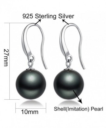 Earrings Sterling Fashion Hypoallergenic Imitation in Women's Drop & Dangle Earrings