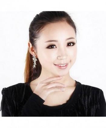 JOYJULY Cryatal Earring Rhinestoone Earrings in Women's Drop & Dangle Earrings