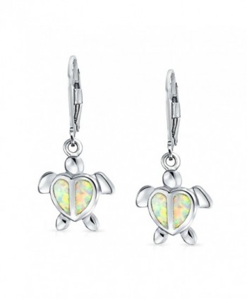 Bling Jewelry Synthetic Leverback Earrings