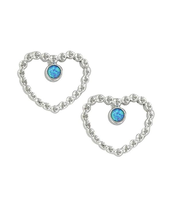 Montana Silversmiths Beaded Heart and Cross Earrings (ER3819) - CI186AEW0E8