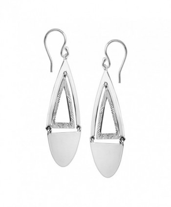 Silpada Shape Sterling Silver Earrings