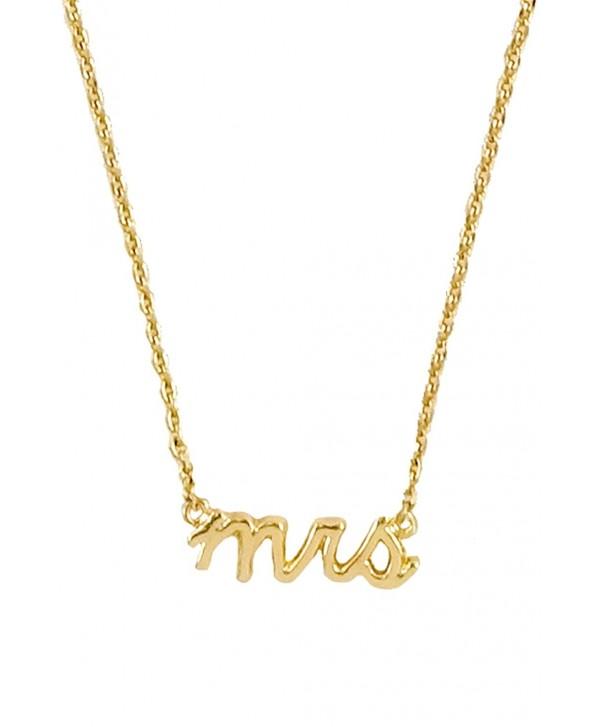 Verbiage Delicate Pendant Necklace - CB17YXZIIS7