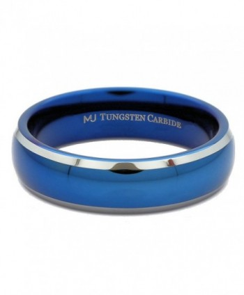 MJ Outside Tungsten Carbide Wedding in Women's Wedding & Engagement Rings