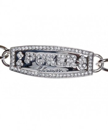 SILVER CHAMPION BRACELET Swarovski Crystal in Women's Brooches & Pins