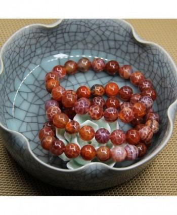 Natural Genuine Semi Precious Gemstones Bracelet in Women's Stretch Bracelets