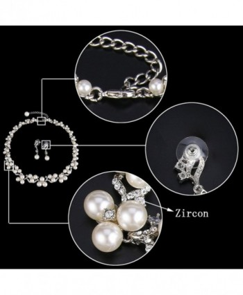 EVER FAITH Austrian Simulated Victorian in Women's Jewelry Sets