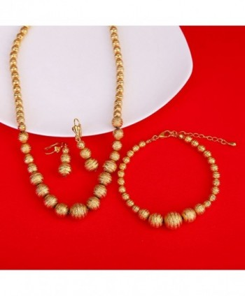 Gold Ethiopian Jewelry Earrings Necklace