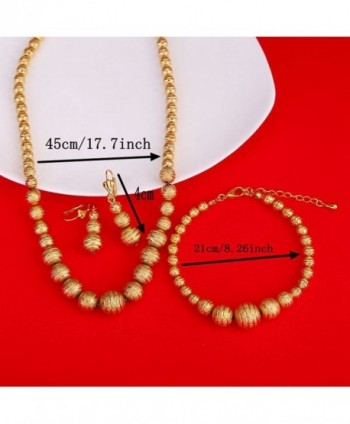 Gold Ethiopian Jewelry Earrings Necklace in Women's Jewelry Sets