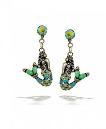 La Contessa Mermaid Earrings by Mary DeMarco - E8761TQ - CN11DFZA1J3