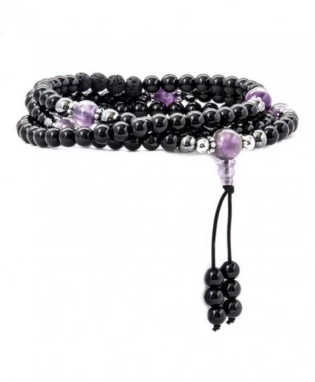 Mala Beads Gemstones Meditation Multilayer - CV12NU7JJ9Q