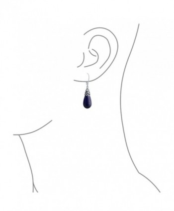 Bling Jewelry Teardrop Filigree Leverback in Women's Drop & Dangle Earrings