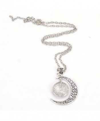 Liumart Crescent Pendant Necklace Jewelry in Women's Pendants