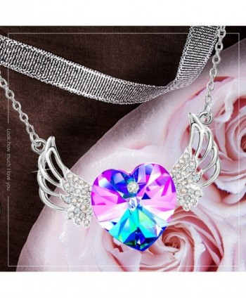 Crystals Swarovski Necklace Daughter Anniversary