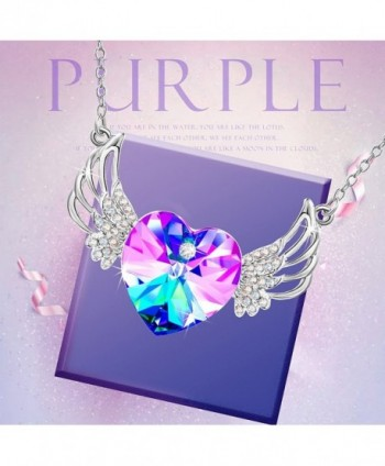 Crystals Swarovski Necklace Daughter Anniversary in Women's Pendants