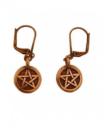 DragonWeave Pentagram Necklace Earring Adjustable in Women's Jewelry Sets