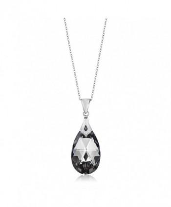 Collection Teardrop Pendant Swarovski Crystals