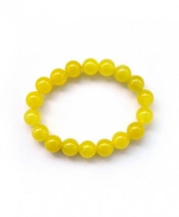 Yellow Stone Meditation Rosary Bracelet