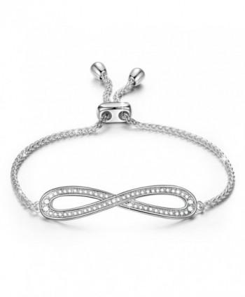 LadyColour Bracelets Swarovski Anniversary Girlfriend - C112CEH30WX
