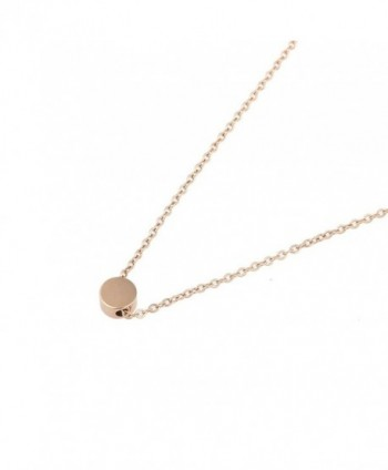 Stainless Necklace Pendant Necklace Rose nl005625 3