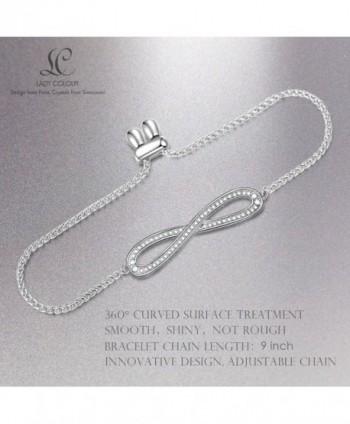 LadyColour Bracelets Swarovski Anniversary Girlfriend