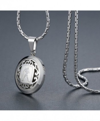 Stainless Aquarius Horoscope Necklace ggp098yi