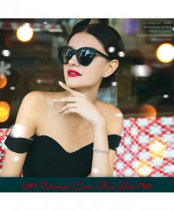 LadyColour Bracelets Swarovski Anniversary Girlfriend in Women's Strand Bracelets