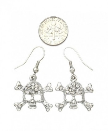 Earrings Crossbones Rhinestones Fashion Jewelry in Women's Drop & Dangle Earrings