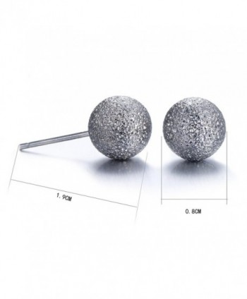 Lureme Classic Gunmetal Earrings er005463
