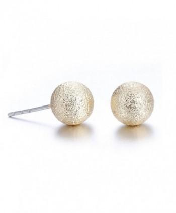 Lureme Classic Gunmetal Earrings er005463 in Women's Stud Earrings