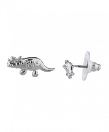 Lux Accessories Dinosaur Jurassic Earring in Women's Stud Earrings