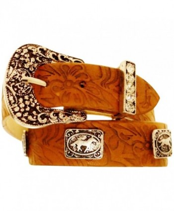 Leather Buckle Bracelet - Cowgirl Up - C51283TQSBV
